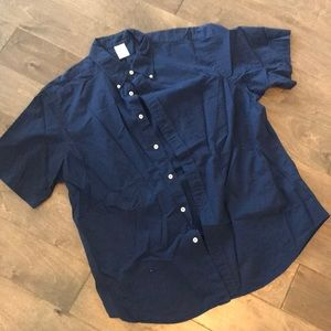 Brooks Brothers navy button up